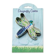 Dragonfly Cookie and Fondant Cutter  Ann Clark  41 Inches  US Tin Plated Steel -- Check out this great product.