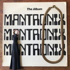 Image of Black Leather Tassel key chain.
