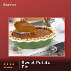 """This is absolutely delicious. Curiosity made me try it because I would never have imagined baking a sweet potato pie with tomato soup in it. I plan to make it again and again."" —BGail 