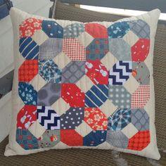Lozenge EPP pillow   Flickr - Photo Sharing! (Love this!)
