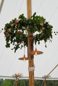 These gorgeous 4ft Flower Hoops provide a fabulous centrepiece in our Sailcloth Tents.  They're available to hire as part of our furniture and accessories, all designed to make your marquee look even more amazing!