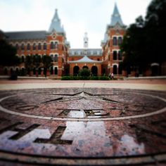 Burleson Quadrangle and the Baylor seal. #SicEm