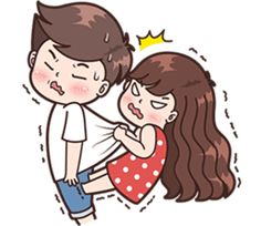 Ideas funny cute couples girls for 2019 Cute Chibi Couple, Love Cartoon Couple, Cute Love Cartoons, Cute Love Pictures, Cute Cartoon Pictures, Cute Love Gif, Cute Couple Drawings, Love Drawings, Cute Love Stories