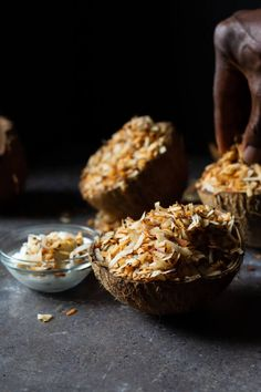 Nigerian Toasted Coconut Candy - Yummy Medley Candy Recipes, Snack Recipes, Snacks, My Favorite Food, Favorite Recipes, Coconut Candy, West African Food, Nigerian Food, Ice Cream Toppings