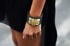 Hermes bracelet.