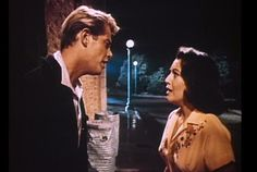"Troy Donahue, Susan Kohner in ""Imitation of Life"", - 1959"