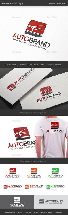 Auto Brand Car Logo — Vector EPS #tune #auto • Available here → https://graphicriver.net/item/auto-brand-car-logo/9182197?ref=pxcr