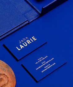 Get Inspired. #branding #collateral #blue