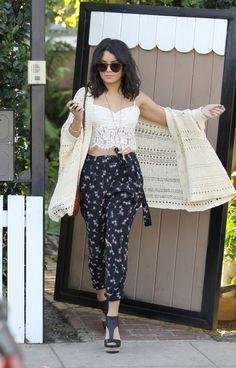 Celebrity Style: Vanessa Hudgens