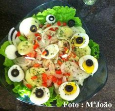 As Delícias das Guerreiras: Salada de Bacalhau