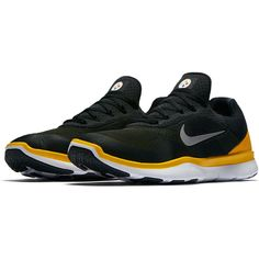 new concept 915c9 79a7e Pittsburgh Steelers Nike NFL Free Trainer V7 Week Zero Shoes