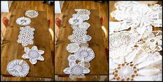 Something to do with all my doilies, maybe???