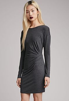 Bodycon Faux Wrap Dress | FOREVER21 - 2000052687 med