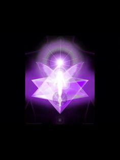 Violet Flame Merkaba.