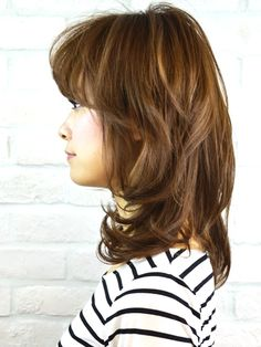 外国人風無造作ミディアム Beauty Box, Summer Hairstyles, Hair Lengths, Hair Inspiration, Long Hair Styles, Face, Fashion, Haircuts, Summer Hairdos