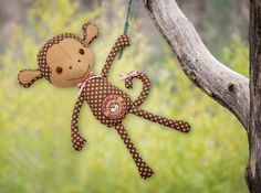 Amazing Designs: Personalized Stuffed Monkey Project