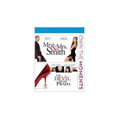 Mr. and Mrs. Smith/The Devil Wears Prada [Blu-ray]