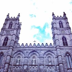 Notre Dame Basilica. It's magnificence cannot be captured in a single frame #travelpics #Montreal #Quebec #notredame #architecture #vieuxmontreal #church