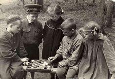 Москва, чемпионат двора по шашкам, 1957г.
