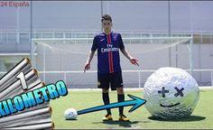 PELOTA DE ALUMINIO DE 1 KILÓMETRO!! Reto de futbol con jeremy #2 [bytarifa]