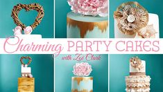 Easily achieve clean, sophisticated designs your clients can& wait to show off. Decorate with vintage accents, rustic-chic decor and graceful antique effects. Cake Decorating Frosting, Cake Decorating Classes, Cake Decorating Tutorials, Decorating Ideas, Bohemian Cake, Fondant Ruffles, Rustic Chic Decor, Modern Cakes, Wafer Paper Cake