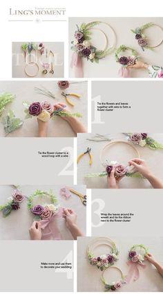 Pew Flowers, Table Flowers, Bridal Flowers, Wedding Wreaths, Wedding Decorations, Foam Roses, Chic Wedding, Rose Wedding, Fall Wedding