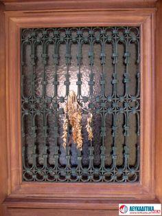 Διακοσμητικά κάγκελα πόρτας Νο 5.