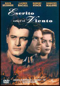DVD CINE 2149 - Escrito sobre el viento (1956) EEUU. Dir.: Douglas Sirk. Sinopse: un rico playboy, propietario dunha próspera compañía petrolífera e un amigo seu da infancia, que traballa na súa empresa, namóranse da mesma muller, a secretaria do playboy.