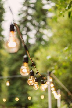 Outdoor Globe Light String 48' -- Black (Bulbs Included)