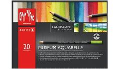 Caran D'ache Museum Aquarelle Pencil Sets Landscape Set of 20 Colours ): Creative art materials supplies, manufactures and distributes quality art products to art, hobby and craft retail outlets. Watercolor Painting Techniques, Watercolor Pencils, Watercolor Paintings, Watercolours, Marker, Artist Pencils, Caran D'ache, Drawing Letters, Museum