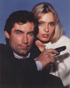 "James Bond (Timothy Dalton) and Kara Millovy (Maryam D'Abo) - ""The Living Daylights"""