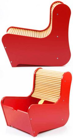 Roll-top kids' chair - Boing Boing