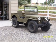 1949 Willys CJ-2A - Photo submitted by Mike Froehlich.