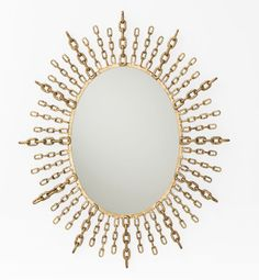 #luxelikes: #DD2065 Chain Oval Mirror by Barry Dixon for Arteriors | http://www.luxesource.com | #luxemag #homedecor #barrydixon #arteriors #interiordesignideas #mirrors