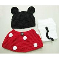 RED MOUSE KNIT OUTFIT SET