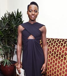 @Who What Wear - The Kenyan actress continues to impress with every outing, choosing big-name designers, like Peter Pilotto, Proenza Schouler, and Caroline Herrera. From her gorgeous Calvin Klein Collection dress from last night's Critics' Choice Awards to her take on bold prints, click through to see her most stunning looks.