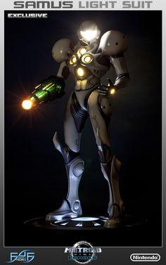 Samus Statue ~Metroid~