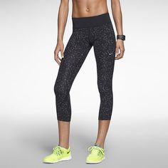 Rank & Style - Nike Epic Lux Printed Women's Running Capri #rankandstyle