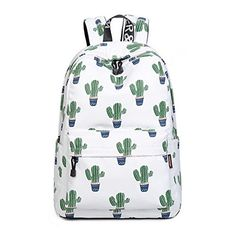 540a58a5e1 New Acmebon Girls Fashion Printed Pattern Backpack Casual Student Backpack  Fit 15.6 Laptop Cactus online.