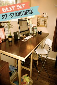 Look here:  http://mostazaseed.blogspot.com/2012/09/the-benefits-of-standing-desks-pt-2-my.html  And here: http://mostazaseed.blogspot.com/2012/08/switching-to-standing-desk-pt1.html #standingdesk