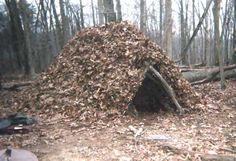Wilderness Survival -Shelter - Debris Hut by Joe Shilling (Deer Runner)