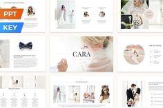 Cara Presentation Template by SlideStation on @creativemarket