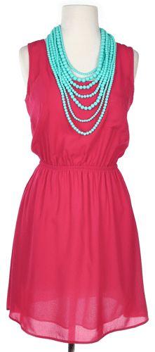 Bown to Run Dress in Fuchsia - Dresses-- love