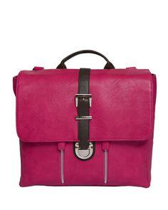Kelly Moore Chapel Convertible Backpack - Hot Pink (Fuchsia) My next bag. So fun! Camera Bag Purse, Messenger Bag Backpack, Dslr Camera Bag, Camera Backpack, Backpack Straps, Leather Backpack, Pink Camera, Laptop Camera, Camera Gear