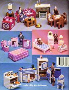 plastic canvas furniture for barbie - Tami Macias - Picasa Webalbums