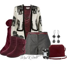 """""""Colored Short Boots"""" by fashionstylecoach on Polyvore"""