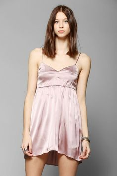 Zinke Kate Silk Chemise Slip #urbanoutfitters