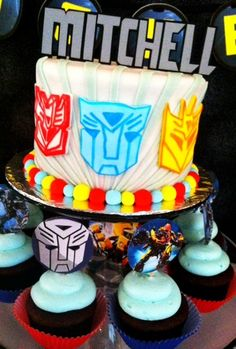 Coincidentally, I have a cousin named Mitchell who loves transformers...
