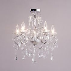 Chandeliers for Small Bathrooms | Spa-19713-chr luxurious bathroom chandeliers