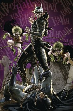 Batman Who Laughs #3 Variant Cvr /(DC, 2019/) NM